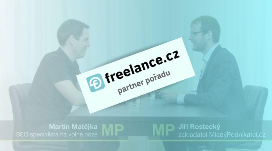 Rozhovor (nejen) o penězích, neúspěchu a pracovních návycích – jak podniká SEO specialista Martin Matějka?