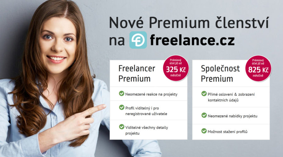 freelance.cz představuje nová členství